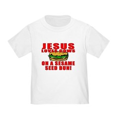 Jesus Loves Animals Toddler T-Shirt