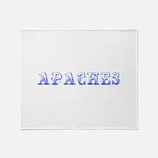 apaches-Max blue 400 Throw Blanket