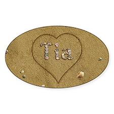 Tia Beach Love Decal