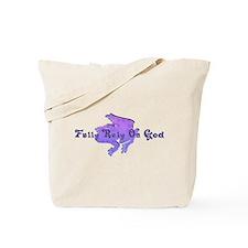 Purple Fancy Frog Tote Bag