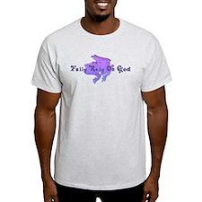 Purple Fancy Frog T-Shirt
