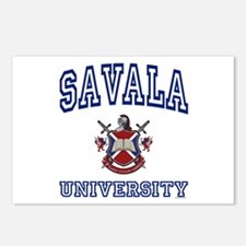SAVALA University Postcards (Package of 8)