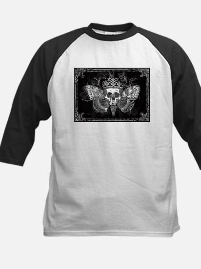 vintage mothman skull Baseball Jersey