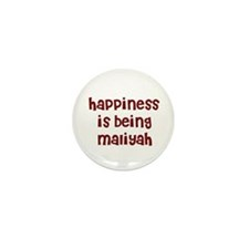 happiness is being Maliyah Mini Button (10 pack)