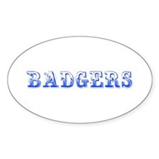 Badgers-Max blue 400 Decal