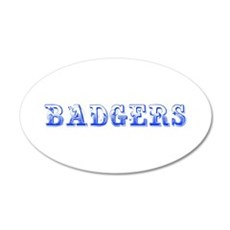 Badgers-Max blue 400 Wall Decal