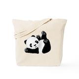 Panda Canvas Bags