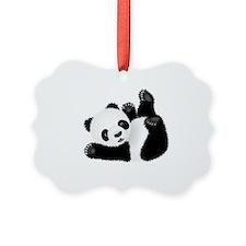Baby Panda Ornament