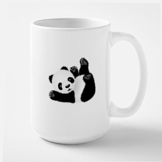 Baby Panda Large Mug