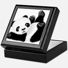Baby Panda Keepsake Box
