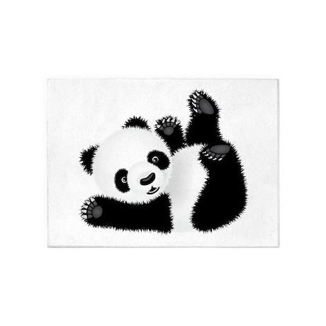 Great Baby Panda 5u0027x7u0027Area Rug