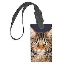 Majestic Cat Luggage Tag