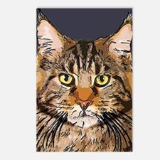 Majestic Cat Postcards (Package of 8)