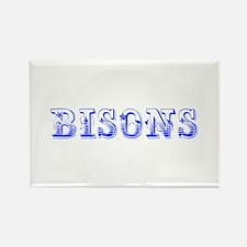 bisons-Max blue 400 Magnets