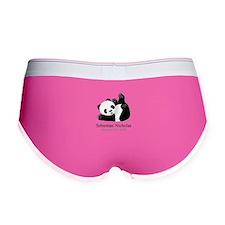 CUSTOM Baby Panda w/Name Birthdate Women's Boy Bri