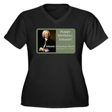 Bach's Birthday Plus Size T-Shirt
