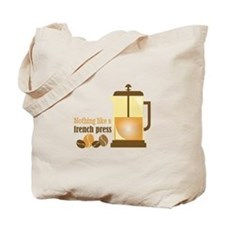 French Press Tote Bag