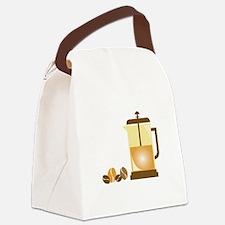 Press & Beans Canvas Lunch Bag
