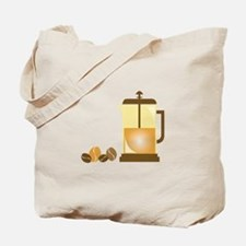 Press & Beans Tote Bag