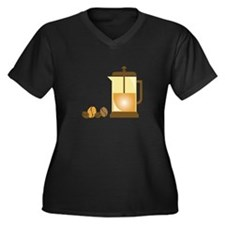 Press & Beans Plus Size T-Shirt
