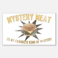 Mystery Meat Decal