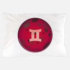 Gemini Symbol Pillow Case