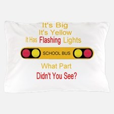 4-flashinglights.png Pillow Case