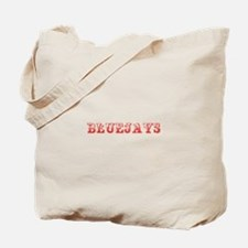 Bluejays-Max red 400 Tote Bag