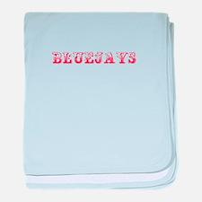 Bluejays-Max red 400 baby blanket