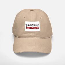 """""""The World's Greatest Postmaster"""" Baseball Baseball Cap"""