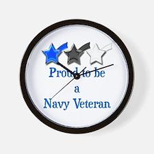Navy Vet Wall Clock