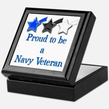 Navy Vet Keepsake Box