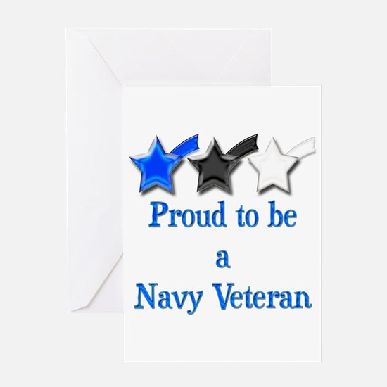 Navy Vet Greeting Card