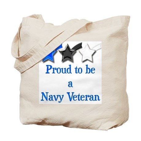 Navy Vet Tote Bag