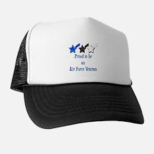 Air Force Vet Trucker Hat