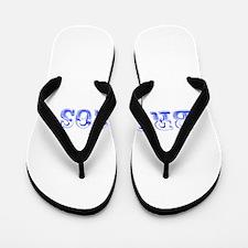 Broncos-Max blue 400 Flip Flops