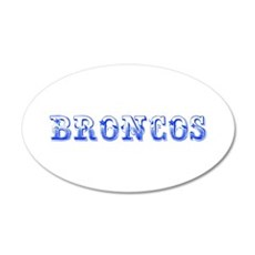 Broncos-Max blue 400 Wall Decal