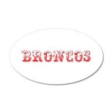 Broncos-Max red 400 Wall Decal