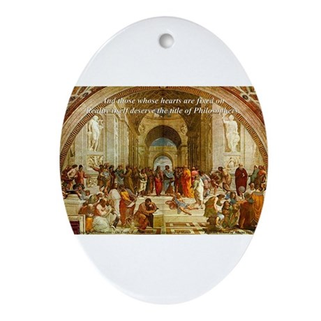 Free Art Gallery Oval Ornament