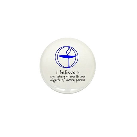 Inherent worth and dignity Mini Button (10 pack)