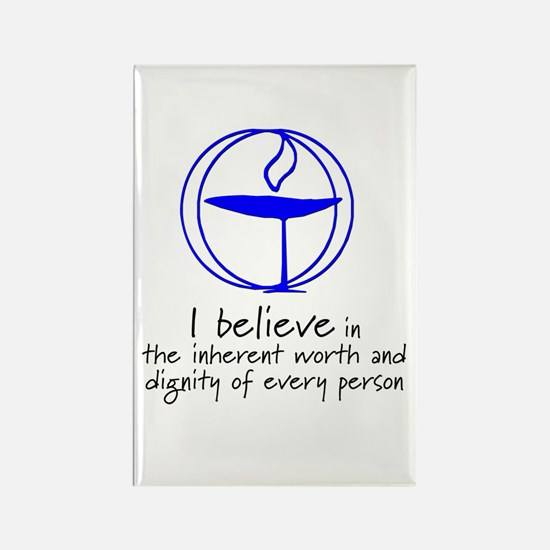 Inherent worth and dignity Rectangle Magnet (100 p