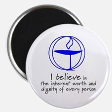 """Inherent worth and dignity 2.25"""" Magnet (10 pack)"""