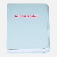 Buccaneers-Max red 400 baby blanket