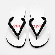 Buckaroos-Max red 400 Flip Flops