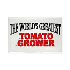 """The World's Greatest Tomato Grower"" Rectangle Mag"
