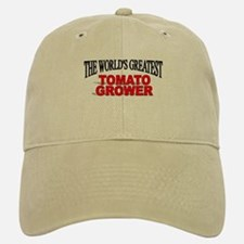"""The World's Greatest Tomato Grower"" Baseball Baseball Cap"