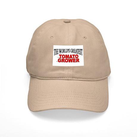 """The World's Greatest Tomato Grower"" Cap"