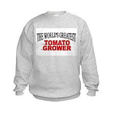 """The World's Greatest Tomato Grower"" Sweatshirt"