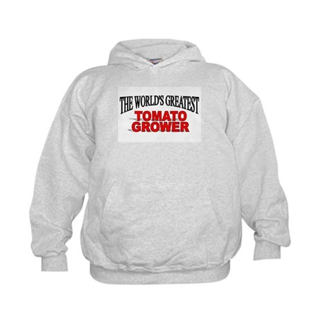 """The World's Greatest Tomato Grower"" Kids Hoodie"