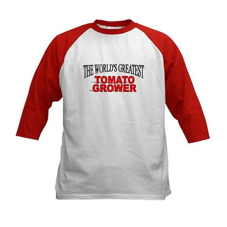 """The World's Greatest Tomato Grower"" Kids Baseball"